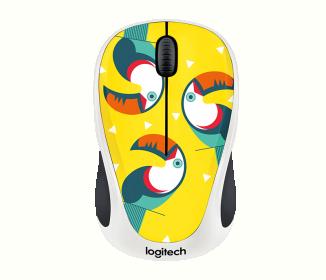 Logitech M238 wireless optikai mintás egér (910-004714)