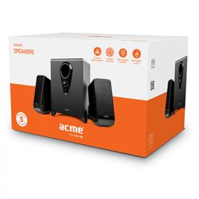 ACME SS208 Accord 2.1 fekete hangszóró (ACHSS208)