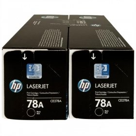 HP 78A fekete 2 db-os toner (CE278AD)