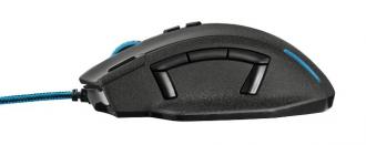 Trust GXT 155 USB optikai fekete gamer egér (20411)