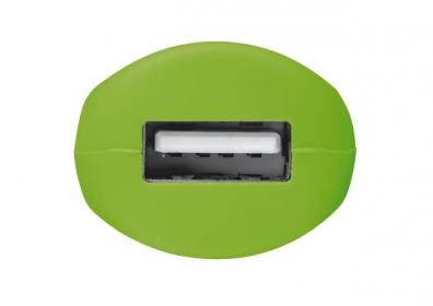 Trust urban zöld USB-s autós töltő(20154)