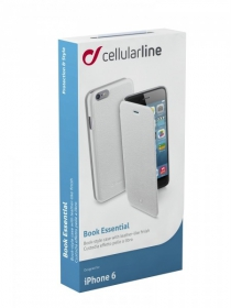 Cellularline Book iPhone 6 fehér telefontok (BOOKESSIPH647W)