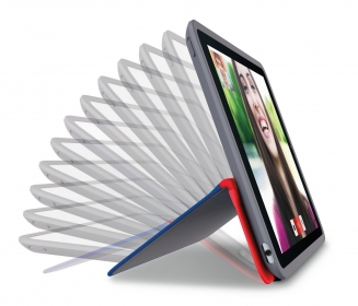 Logitech ANY ANGLE iPad Air 2 kék-piros tablet tok (939-001141)