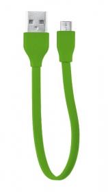 Trust 20142 zöld 20 cm micro USB adatkábel