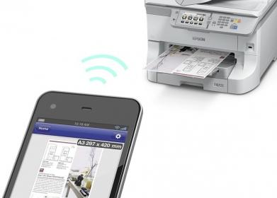 Epson WorkForce PRO WF-8510DWF multifunkciós nyomtató (C11CD44301)