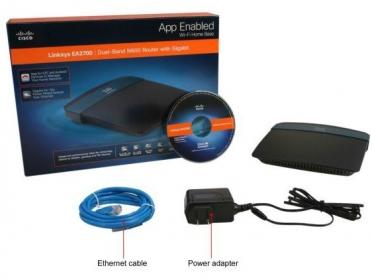 Linksys EA2700 N600 Dual-Band Wireless Gigabit Router