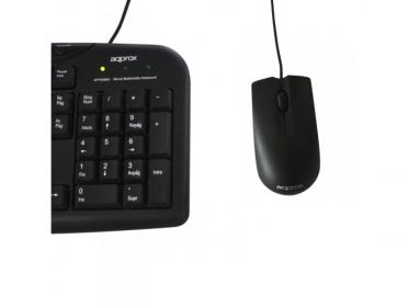 Approx APPOMNBG USB optikai fekete-zöld egér