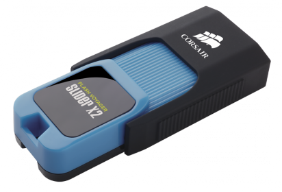 Corsair USB Flash Voyager Slider X2 64GB (CMFSL3X2-64GB)
