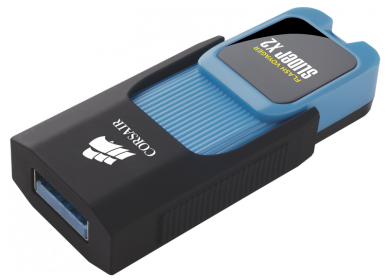 Corsair USB Flash Voyager Slider X2 64GB (CMFSL3X2-64GB)
