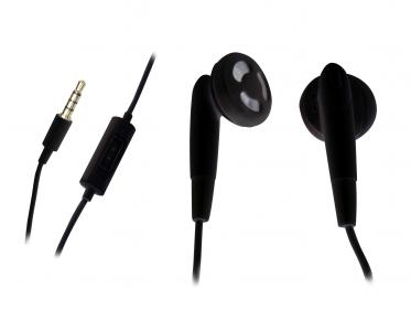 Sandberg Speak fekete mikrofonos fülhallgató (125-66)