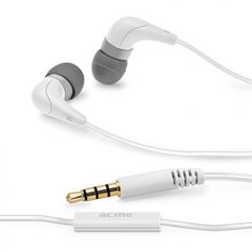 ACME HE15 fehér mikrofonos fülhallgató (ACFHHE15CDU)