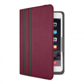 Belkin Twin Stripe Cover bordó iPad Mini tok (F7N324BTC03)