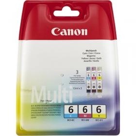 Canon BCI-6CMY ciánkék-sárga-magenta multipack tintapatron (4706A029)