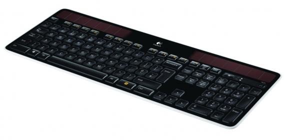 Logitech K750 wireless napelemes angol billentyűzet (920-002929)