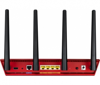 Asus RT-AC87U piros 2334 Mbps Wireless Router (90IG00WR-BM3G00)