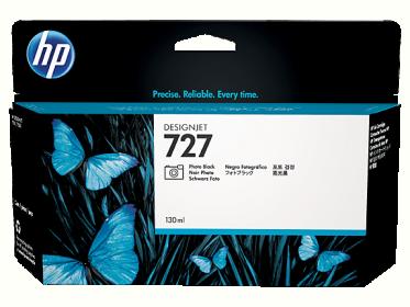 HP No727 fotó fekete tintapatron (  B3P23A)