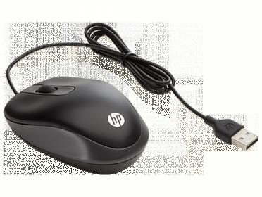 HP G1K28AA USB optikai fekete egér