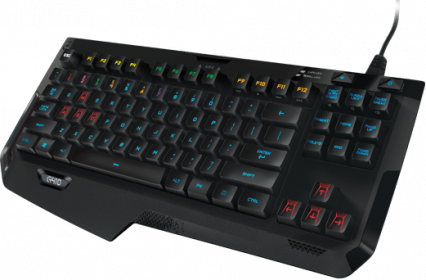 Logitech G410 Atlas Spectrum USB angol gamer billentyűzet (920-007736)
