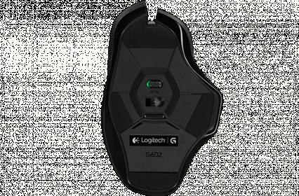 LOGITECH G602 wireless optikai fekete gamer egér (910-003822)