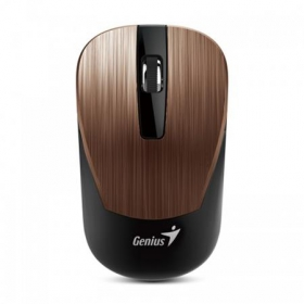 GENIUS NX-7015 wireless BlueEye rozsdabarna-fekete egér (NX-7015_ROSYBROWN)