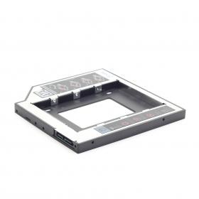 Gembird notebook ODD optikai meghajtó helyére HDD, SSD beépítőkeret (MF-95-01)