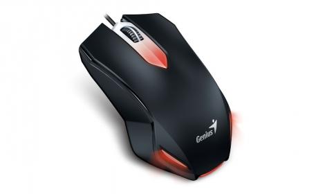 Genius X-G200 USB optikai fekete gamer egér (31040034102)