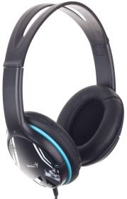 Genius HS-M400A Fekete-Kék Headset (31710169102)