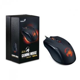 Genius Ammox X-400 USB optikai fekete gamer egér (31040033104)