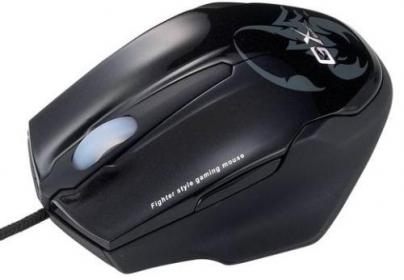 Genius Maurus GX USB lézer fekete gamer egér (MOU-MAURUS)