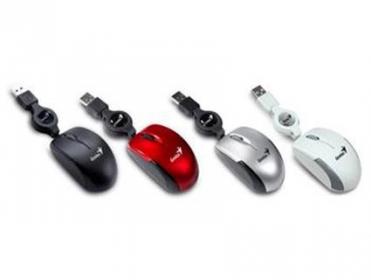 Genius Micro Traveler USB optikai piros egér (31010100119)