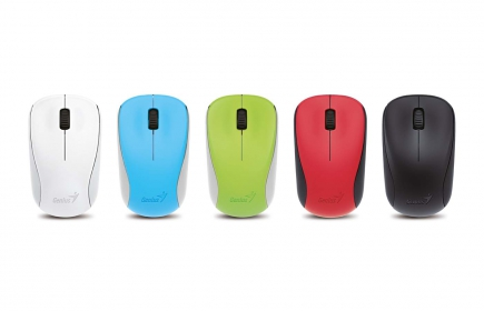Genius NX-7000 wireless BlueEye piros egér (NX-7000_RED)