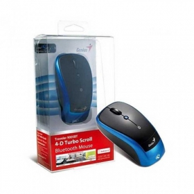 GENIUS TRAVELER_9005BT wireless BlueEye fekete-kék egér (TRAVELER_9005BT BLACK/BLU)