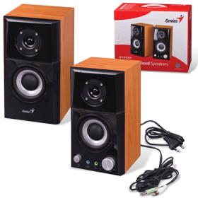 GENIUS SP-HF500A Hangszóró Fekete-Fa színű (SP-HF500A)