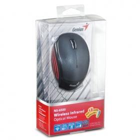 Genius NX-6500 wireless optikai metálszürke egér (31030099101)