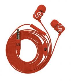 Trust Urban Duga In-Ear mikrofonos piros headset (19881)