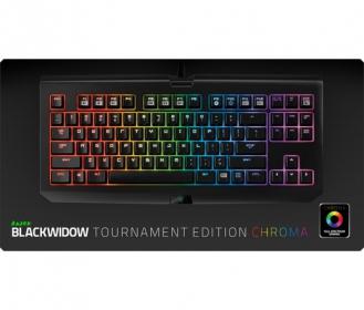 Razer BlackWidow Tournament Chroma USB angol gamer billentyűzet (RZ03-01430200-R3M1)