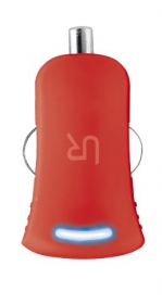 Trust Urban piros USB-s autós töltő (20153)