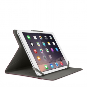 Belkin Uni Twin Stripe Trifold Cover iPad Air bordó-fekete tablet tok (F7N320BTC03)