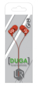Trust Urban Duga In-Ear mikrofonos piros headset (19881)