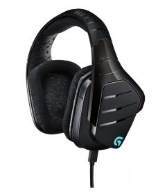 Logitech G633 Artemis Spectrum mikrofonos fekete gamer fejhallgató (981-000605)