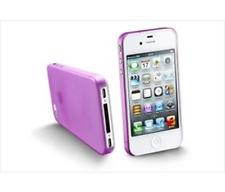 Cellularline  Iphone 4 / 4S lila védőtok (035IPHONE4P)