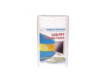 ESPERANZA ES106 100 db-os LCD/TFT nedves tisztítókendő