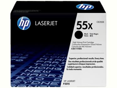 HP 55X fekete toner (CE255X)