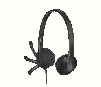 Logitech H340 Fejhallgató Fekete (981-000475)