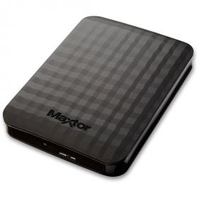 Maxtor 2,5'' M3 Portable 2TB USB3.0 Külső HDD Fekete (STSHX-M201TCBM)