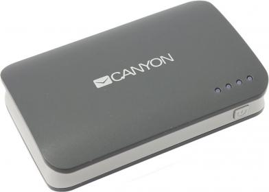 CANYON CNE-CPB78 7800 mAh sötétszürke Powerbank (CNE-CPB78DG)