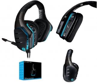 Logitech G933 mikrofonos fekete gamer fejhallgató (981-000599)