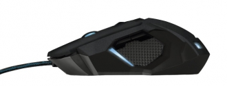 Trust GXT 158 USB lézer fekete gamer egér (20324)