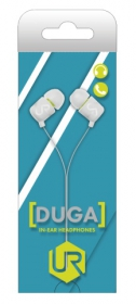 Trust Urban Duga In-Ear mikrofonos fehér headset (19882)