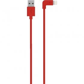 Belkin F8J147BT04-RED 1,2 m piros lightning kábel